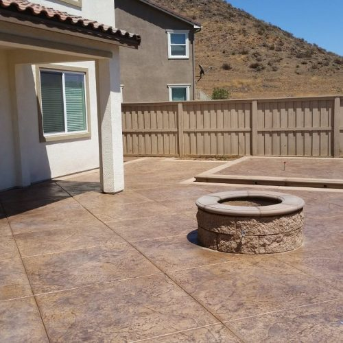 Concrete patio contractor